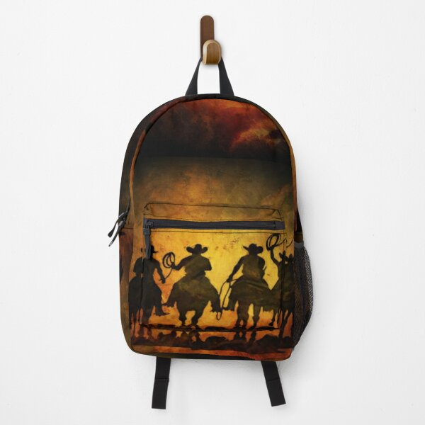 Wild West Cowboys Backpack