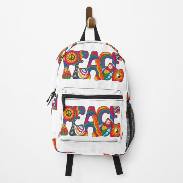 Psychedelic Peace Backpack