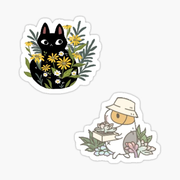 Cute Animal Set Sticker
