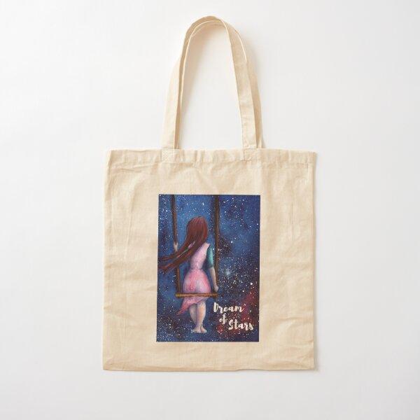 Dream of Stars Cotton Tote Bag