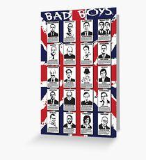 Bad Boys Greeting Card
