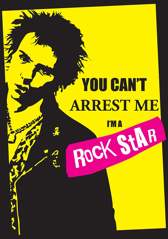 You can't arrest me.... by Tom Fulep