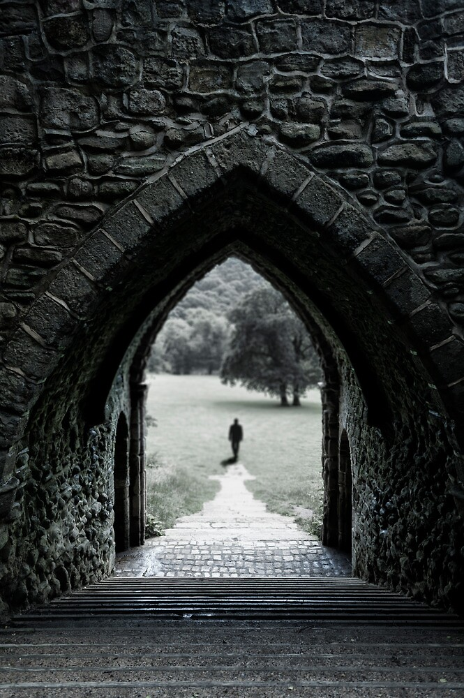 Through the Arch by Svetlana Sewell