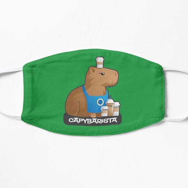 Capybara Barista Mask