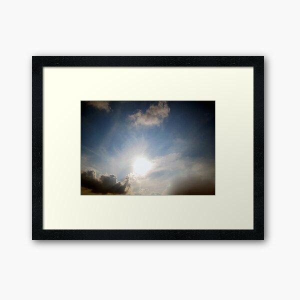 Impending Sunset Framed Art Print