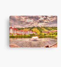 Blue Mountain - HDR - 2 Canvas Print