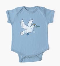 Die Hippie-Taube Baby Body Kurzarm