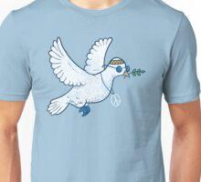 The Hippie Dove Unisex T-Shirt