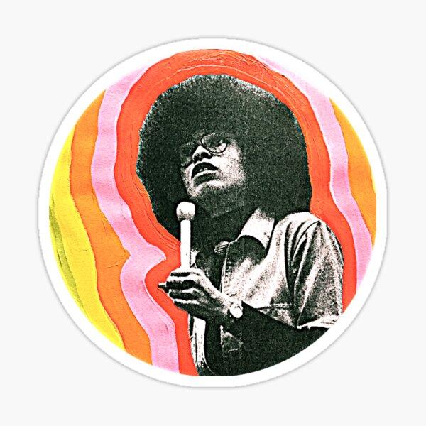 BLM Angela Davis Sticker