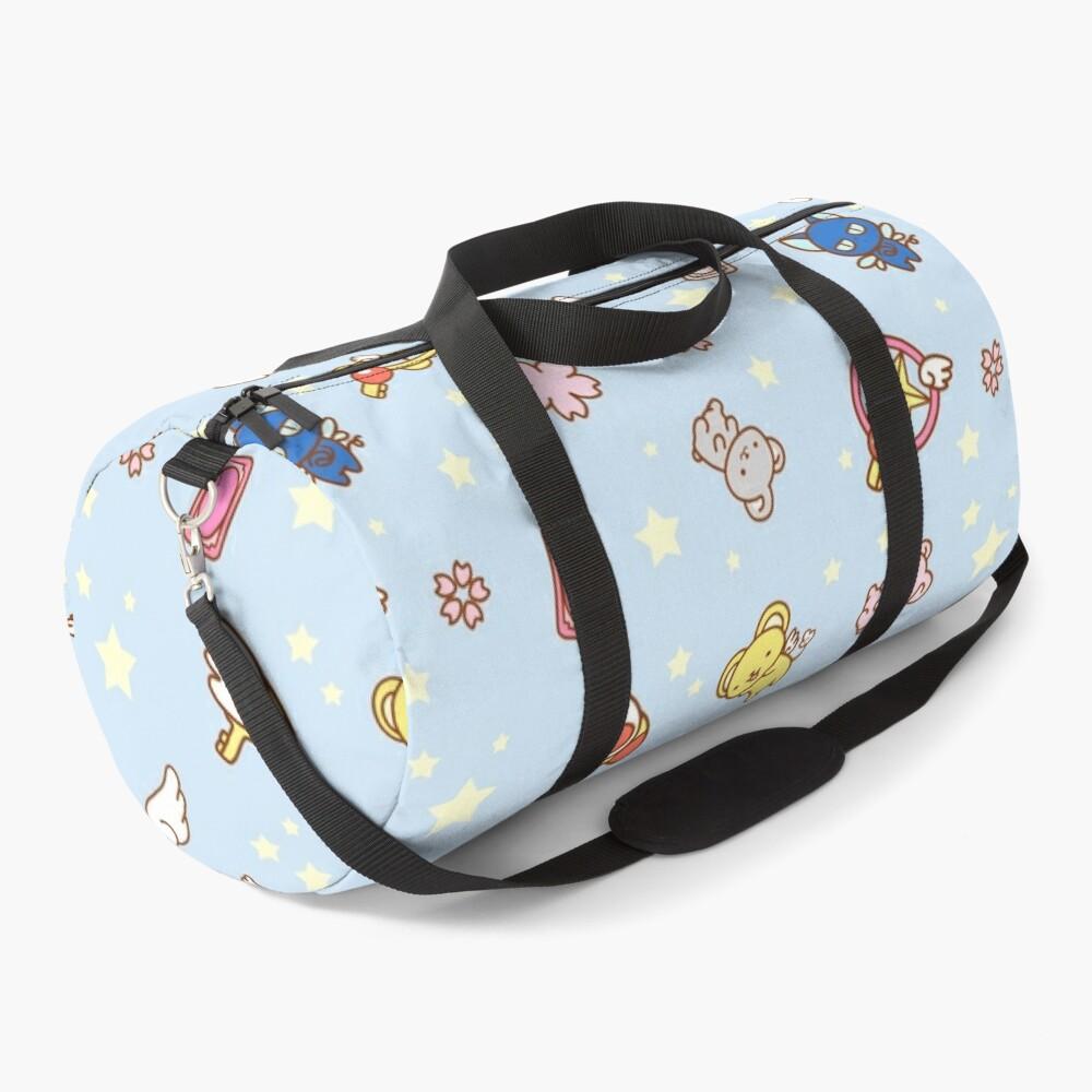 cardcaptor sakura cute magical girl things blue Duffle Bag