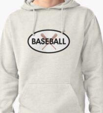 Baseball oval Pullover Hoodie