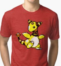 Ampharos Retro Tri-blend T-Shirt
