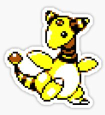 Ampharos Retro Sticker