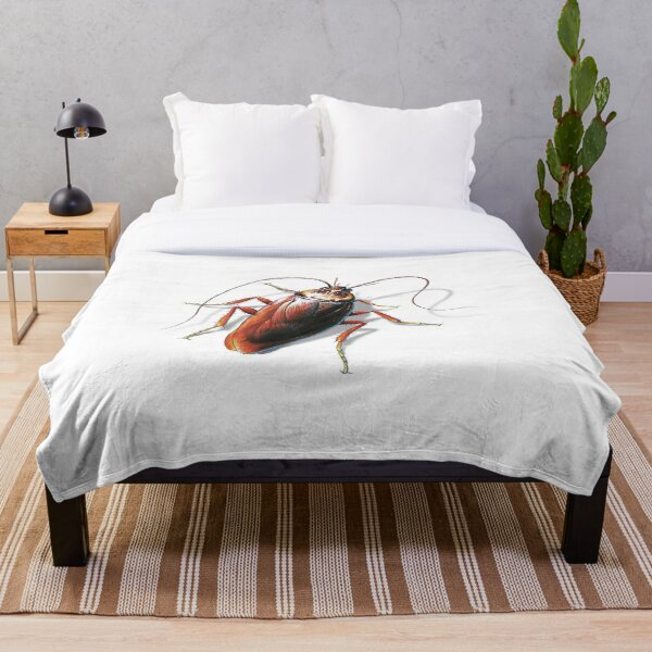Cockroach Throw Blanket By Salmoneggs Redbubble