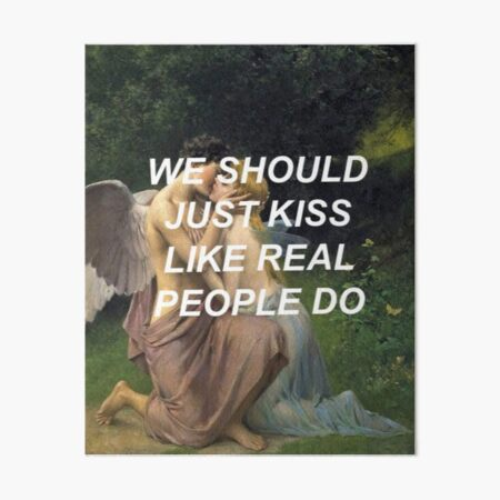 Like Real People Do (Hozier) Art Board Print