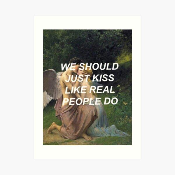 Like Real People Do (Hozier) Art Print