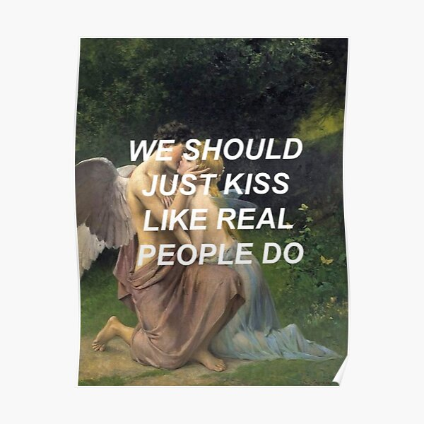 Like Real People Do (Hozier) Poster