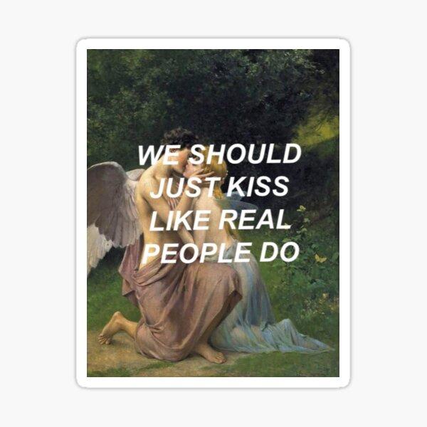 Like Real People Do (Hozier) Sticker