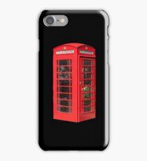 Red Telephone Box iPhone iPhone Case/Skin