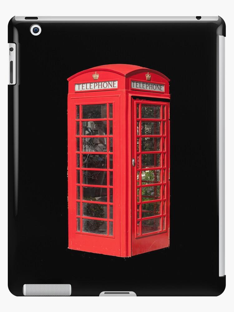 Red Telephone Box iPad by Catherine Hamilton-Veal  ©