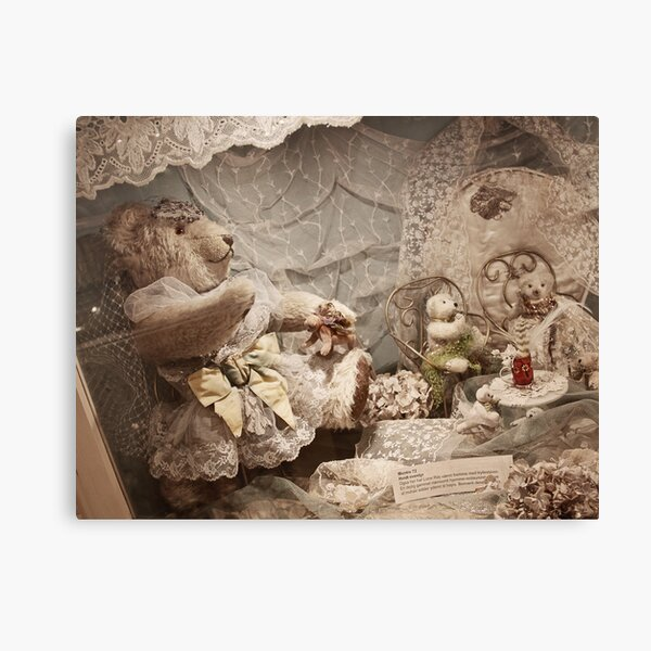 Bear with friends Canvas Print
