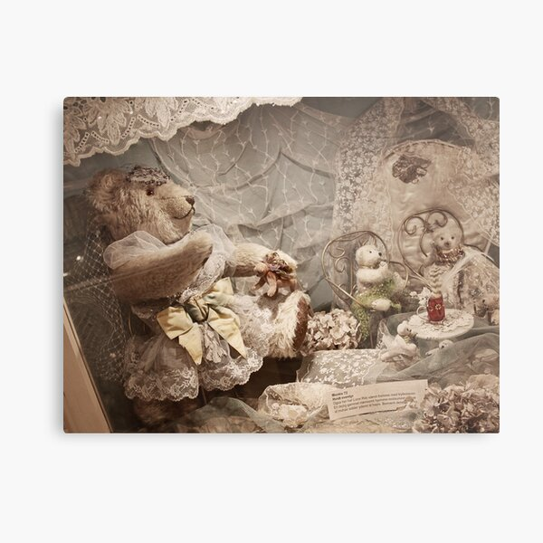Bear with friends Metal Print