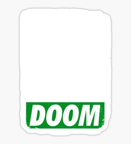 Obey DOOM Sticker