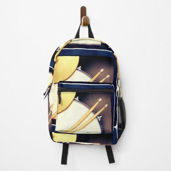 Drums, Drum stickers  Backpack