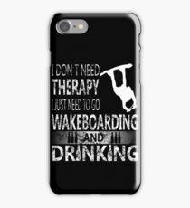 WAKEBOARD N DRINKING iPhone Case/Skin