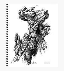 Rock Facade - Sketch Pen & Ink Illustration Art Photographic Print