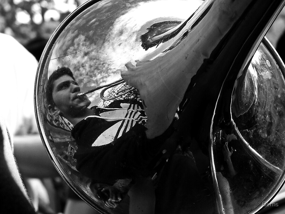 Music on the Street .. by Berns