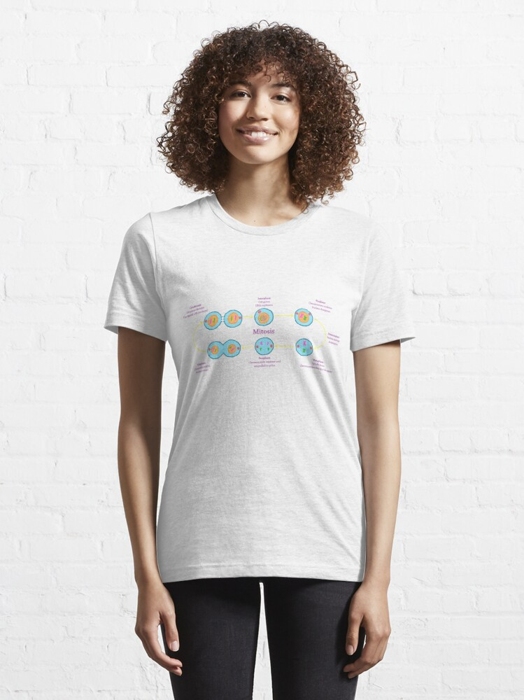 Alternate view of Mitosis Essential T-Shirt