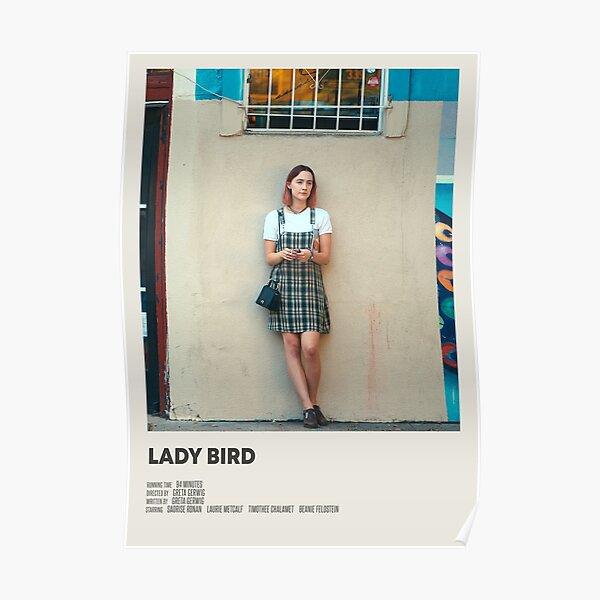 Lady Bird movie poster Poster