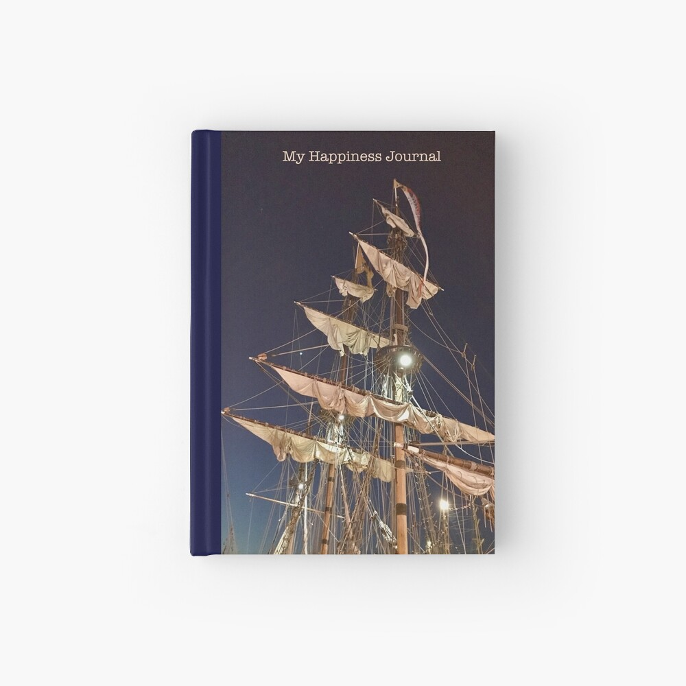 Happiness Journal Masts Hardcover Journal