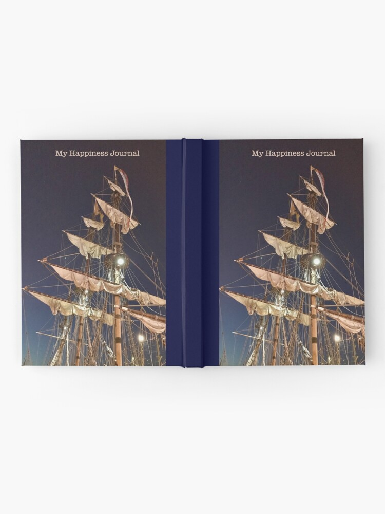 Alternate view of Happiness Journal Masts Hardcover Journal