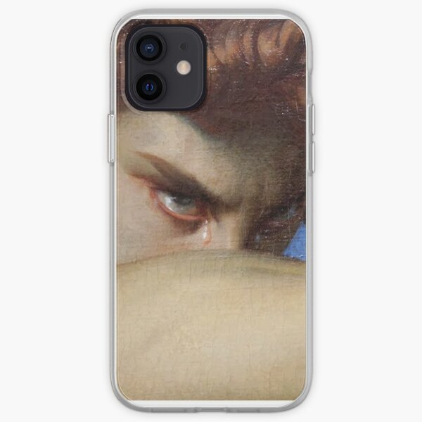 Fallen angel painting  iPhone Soft Case