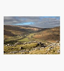 Hubberholme In Upper Wharfedale Photographic Print