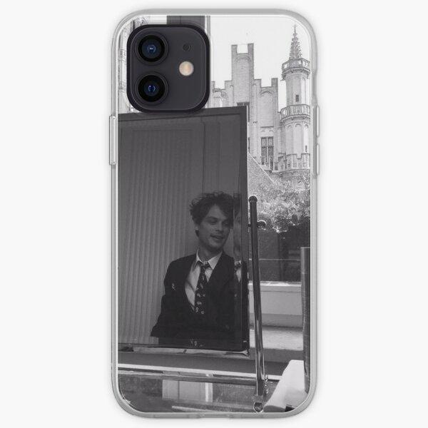 matthew gray gubler black and white iPhone Soft Case