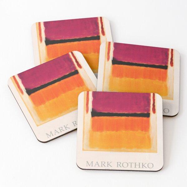 Mark Rothko Exhibition poster 1979 Coasters (Set of 4)