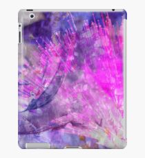 Electro floral iPad Case/Skin