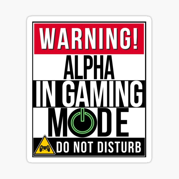 Alpha Gaming Gifts Merchandise Redbubble