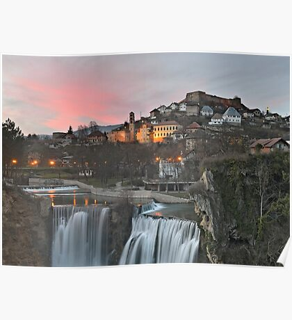 Jajce Sunset Poster