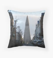 Monolith at the Top Throw Pillow
