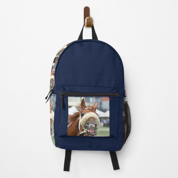 Horse laughing Backpack