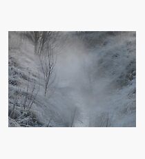 Morning Steam Photographic Print