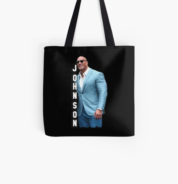 Dwayne 'The Rock' Johnson | Digital art print | 290620.1 All Over Print Tote Bag