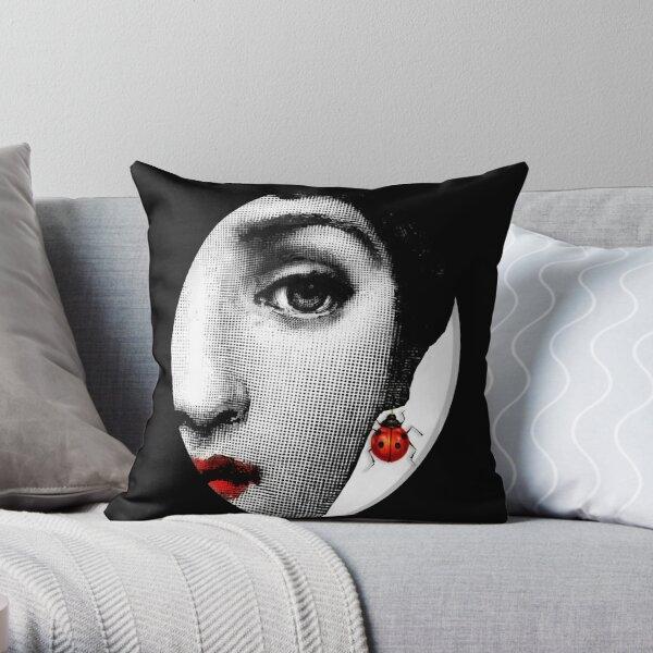 Lina Cavalieri ladybug Throw Pillow