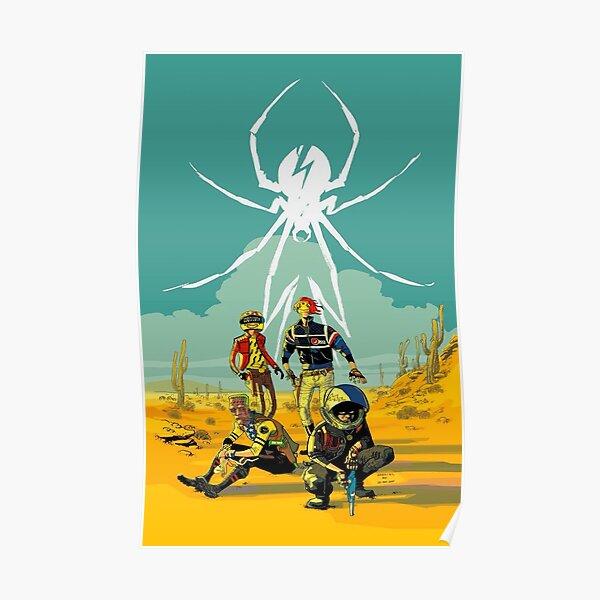 my desert spider Poster
