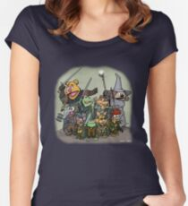 Fellowship of the Muppets Women's Fitted Scoop T-Shirt
