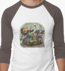 Fellowship of the Muppets Men's Baseball ¾ T-Shirt
